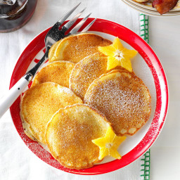 Orange Ricotta Pancakes Recipe