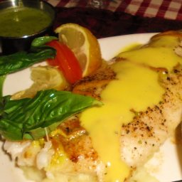 Orange Roughy in Wine Sauce