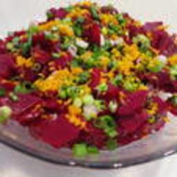 Orange Scented Beet Salad