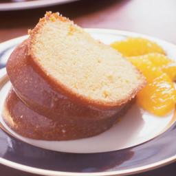 Orange-Soaked Bundt Cake