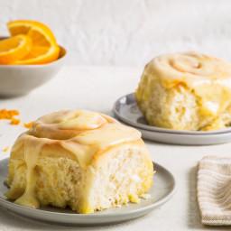 Orange Sweet Buns