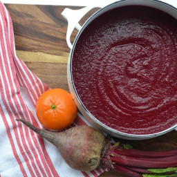 Orange-Tarragon Beet Soup