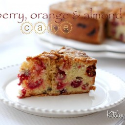 orange/cranberry cake, Sandy Townsend