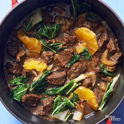 Orange Teriyaki Beef Stew