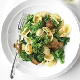 Orecchiette with Chicken Sausage and Broccoli Rabe