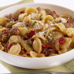 Orecchiette with Roasted Fennel and Sausage