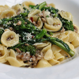 Orecchiette with Broccoli Rabe and Italian Sausage