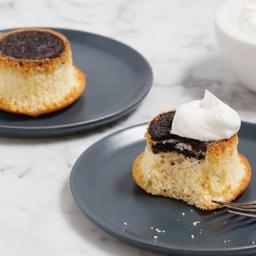 Oreo Upside-Down Cupcakes