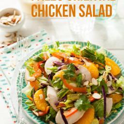 Oriental Chicken Salad Recipe {Paleo, Gluten-Free, Clean Eating, Dairy-Free