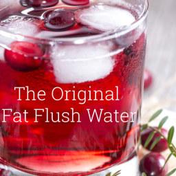 Original Fat Flush Water