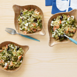 Orzo Salad With Shrimp and Feta