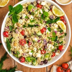Orzo & Tuna Salad