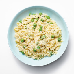 Orzotto with Peas