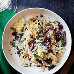 Orzo with Caramelized Onions and Raisins