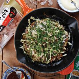 Osaka-Style Okonomiyaki Recipe