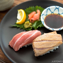 Otoro Sushi Two Ways