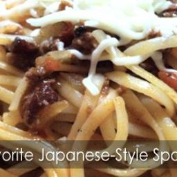 Our Favorite Japanese-Style Spaghetti Recipe!