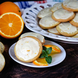 Outrageously Moist Orange Cookies