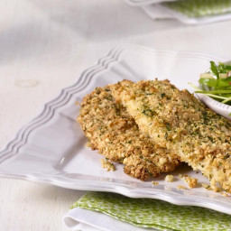 Oven-Baked Breaded Chicken Breasts (Meat, Passover)