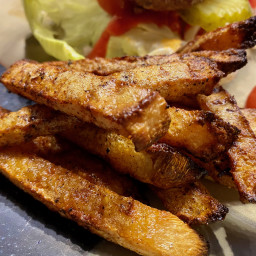 Oven-Baked Jicama Fries