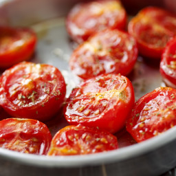 Oven-Candied Summer Tomatoes