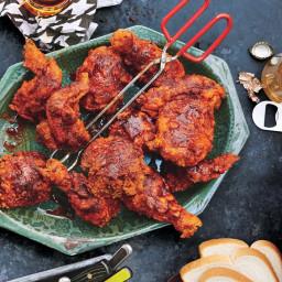 Oven-Fried Nashville-Style Hot Chicken