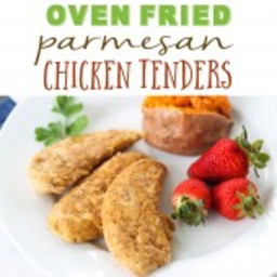 Oven-Fried Parmesan Chicken Tenders {Freezer Meal}