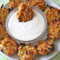 Oven-Fried Pickles with Potato Chip Coating