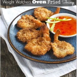 Oven Fried Shrimp Recipe (5 WW points)