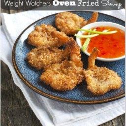 Oven Fried Shrimp Recipe (5 WW points)