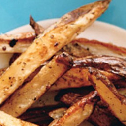Oven Fries with Coriander Seeds