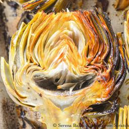Oven Roasted Artichoke Hearts