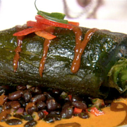Oven Roasted Chile Relleno with Chipotle Asado Sauce