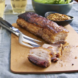 Oven Roasted Crispy Pork Belly