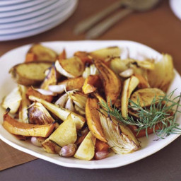 Oven-roasted Fall Vegetables