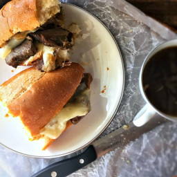 Oven Roasted French Dip Sandwiches