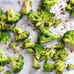 Oven Roasted Frozen Broccoli