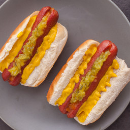 Oven Roasted Hot Dogs