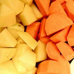 Oven-Roasted Winter Vegetables