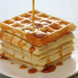 Overnight Gluten-Free Belgian Waffles