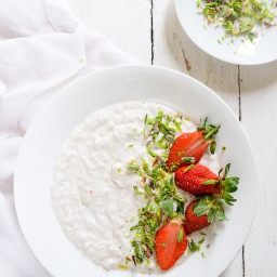 Overnight Oats in Coconut Milk