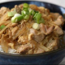 Oyakodon - Japanese Rice bowl