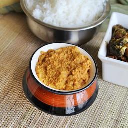 pacha manga chammanthi recipe   Raw Mango Chutney
