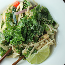 Pad Thai Kale Salad