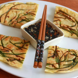 Pajeon (Korean Scallion Pancakes)