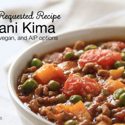 Pakistani Kima - Ground Beef Curry