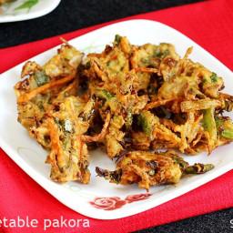 Pakora recipe | Vegetable pakora recipe