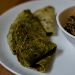 Palak Chapati