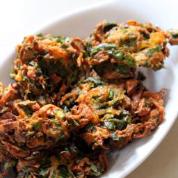 Palak Pakoda Recipe Crispy or Palak Pakora