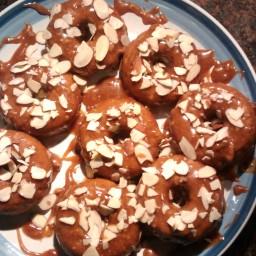Paleo Almond Maple Cinnamon Donuts